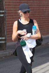 Ashlee Simpson - Leaving a Gym in LA 08/24/2018