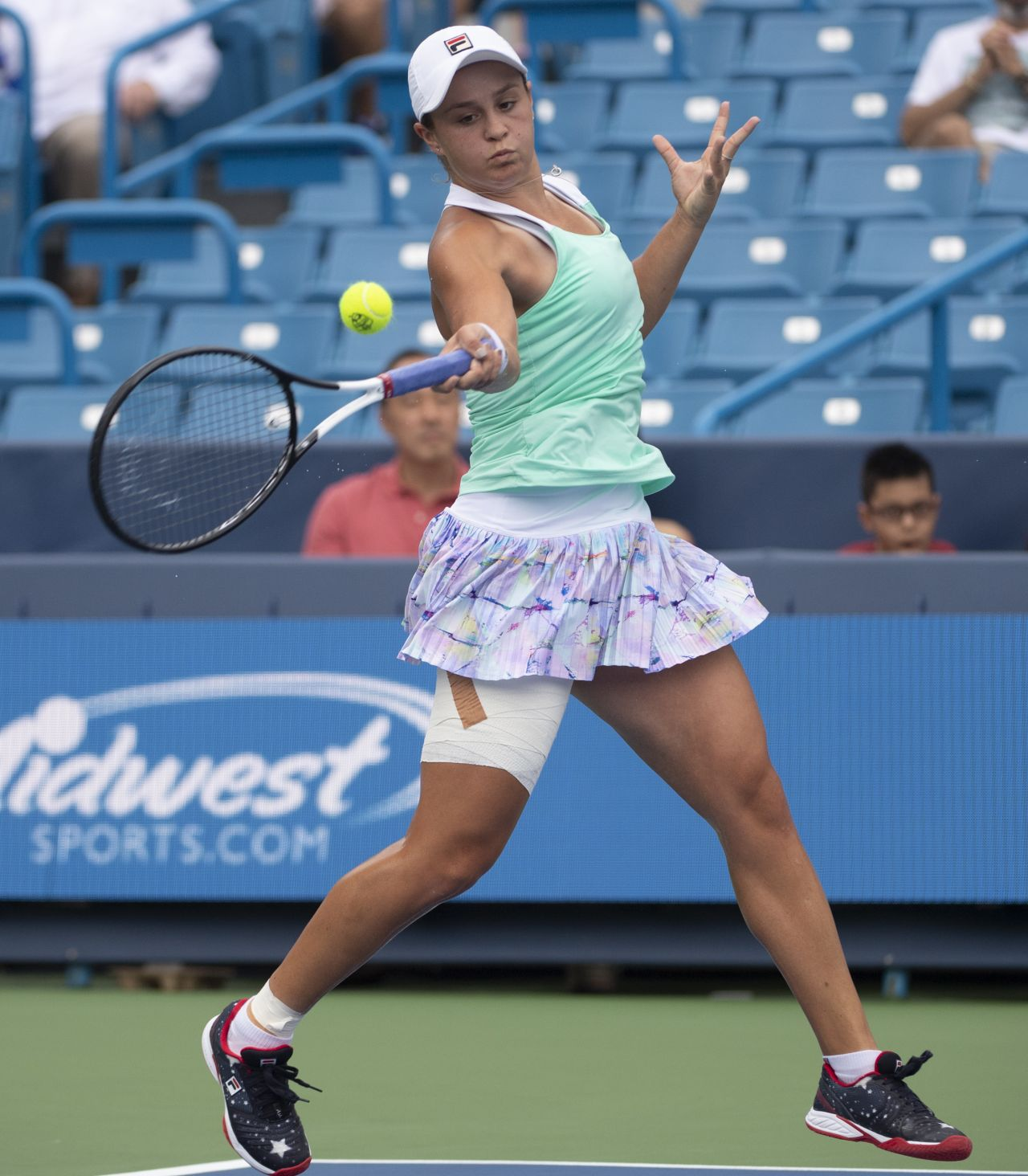 Ashleigh Barty: 2018 Western & Southern Open In