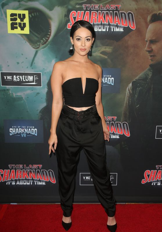 "Ashley Doris – ""The Last Sharknado: It's About Time"" Premiere in LA"