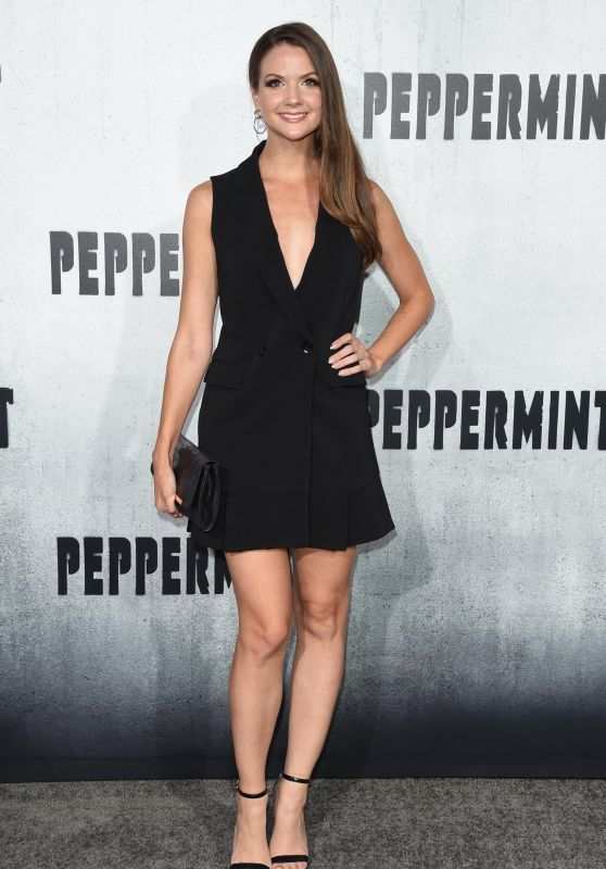 "Ashley Gibson – ""Peppermint"" Premiere in LA"