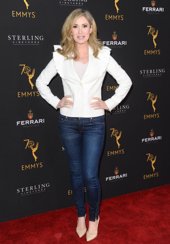 Ashley Jones – Television Academy Daytime Peer Group Emmy Celebration in LA 08/22/2018