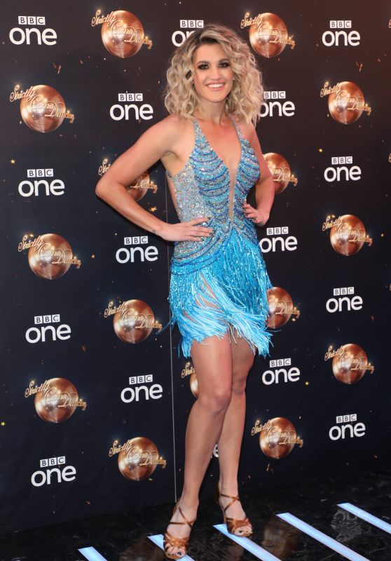 Ashley Roberts - Strictly Come Dancing Launch in London 08/27/2018