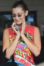 Bella Hadid at E Baldi in Beverly Hills 08/09/2018