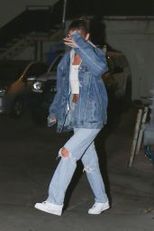 Bella Hadid at Matsuhisa in Bevrly Hills 08/08/2018