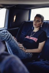 "Bella Hadid - ""True Religion Advertising Campaign 08/21/2018"