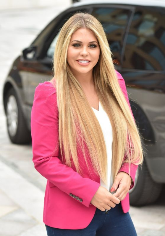Bianca Gascoigne at the ITV Studios in London 08/15/2018