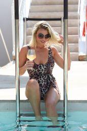 Billie Faiers in Swimsuit in Ibiza 08/23/2018