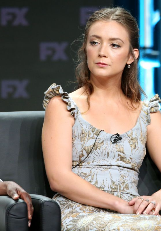 "Billie Lourd - ""American Horror Story Apocalypse"" TV Show Panel at 2018 TCA Summer Press Tour in LA"
