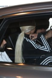 Blac Chyna - Arriving on a Flight at LAX in Los Angeles 08/21/2018