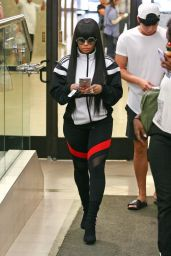 Blac Chyna at Her Lawyer
