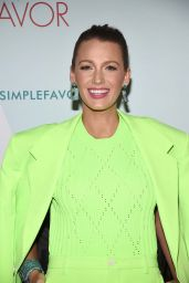 "Blake Lively - ""A Simple Favor"" Cocktail Party in New York"