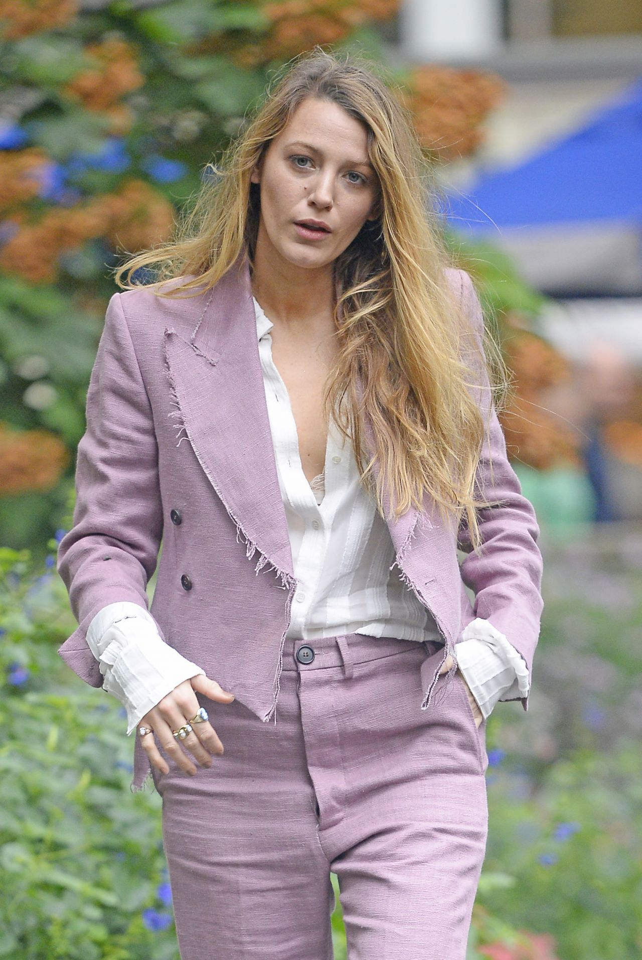 Blake Lively - Bryant Park in NYC 08/20/2018