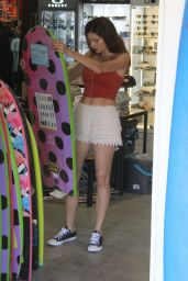 Blanca Blanco - Shops for a New Surf Board in Malibu 08/17/2018