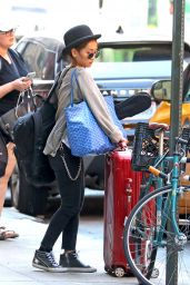 Brenda Song - Out in NYC 08/26/2018