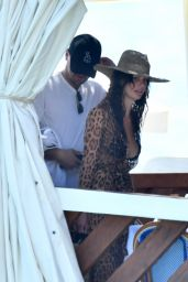 Camila Morrone and Leonardo DiCaprio on Holiday in Positano 08/05/2018
