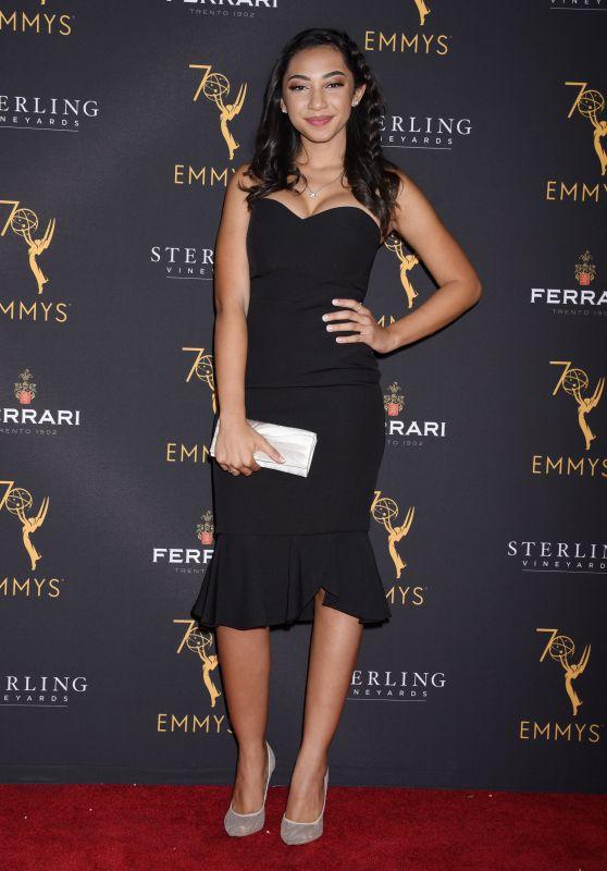 Camryn Hamm – Television Academy Daytime Peer Group Emmy Celebration in LA 08/22/2018