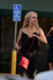 Candice Accola King - Shopping in Los Angeles 08/26/2018