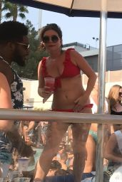 Candice Brown in Bikini - Wet Republic Pool Party in Las Vegas 08/18/2018