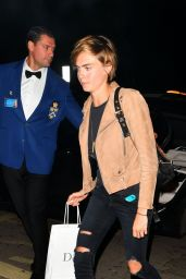 Cara Delevingne Night Out at Annabel