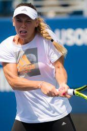 Caroline Wozniacki  – Practice at the 2018 US Open Grand Slam Tennis in New York 08/21/2018