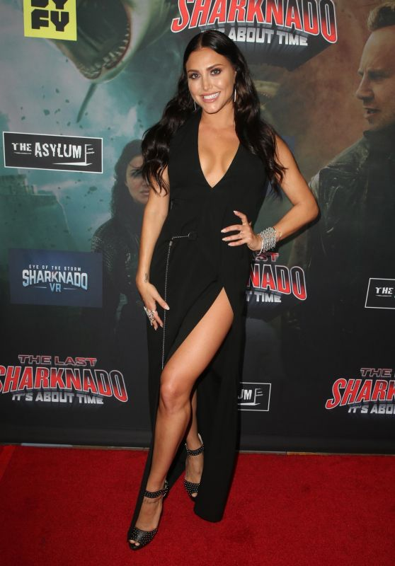 "Cassie Scerbo – ""The Last Sharknado: It's About Time"" Premiere in LA"