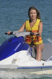 Catarina Sikiniotis in Swimsuit in Mykonos, August 2018