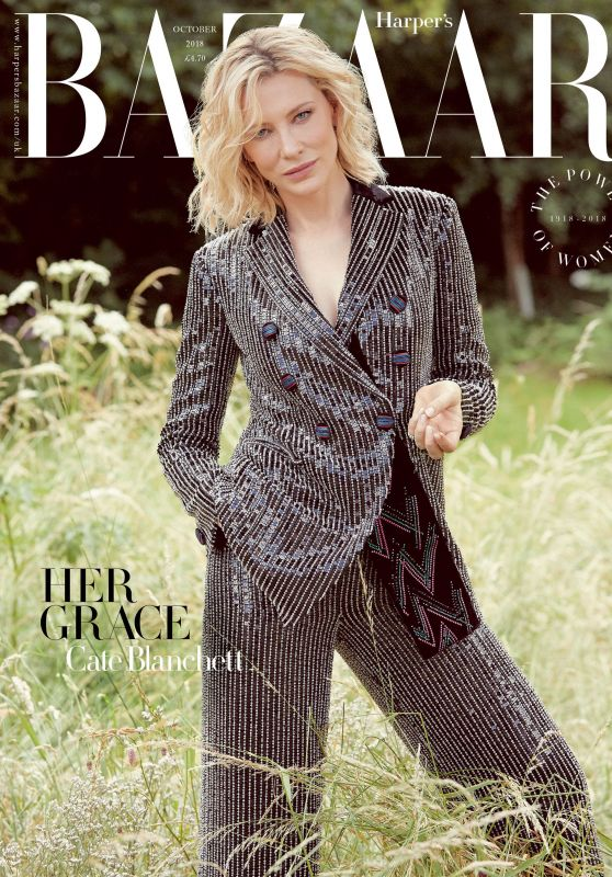Cate Blanchett - Harper's Bazaar UK  October 2018