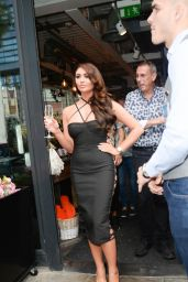 Charlotte Dawson - Celebs on The Farm Launch Party in London 08/20/2018