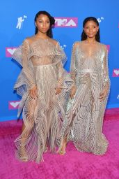 Chloe Bailey and Halle Bailey – 2018 MTV Video Music Awards