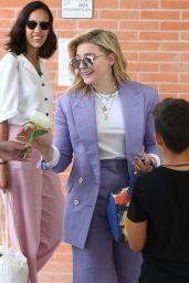 Chloe Moretz is Stylish at Venice Film Festival in Italy 08/30/2018