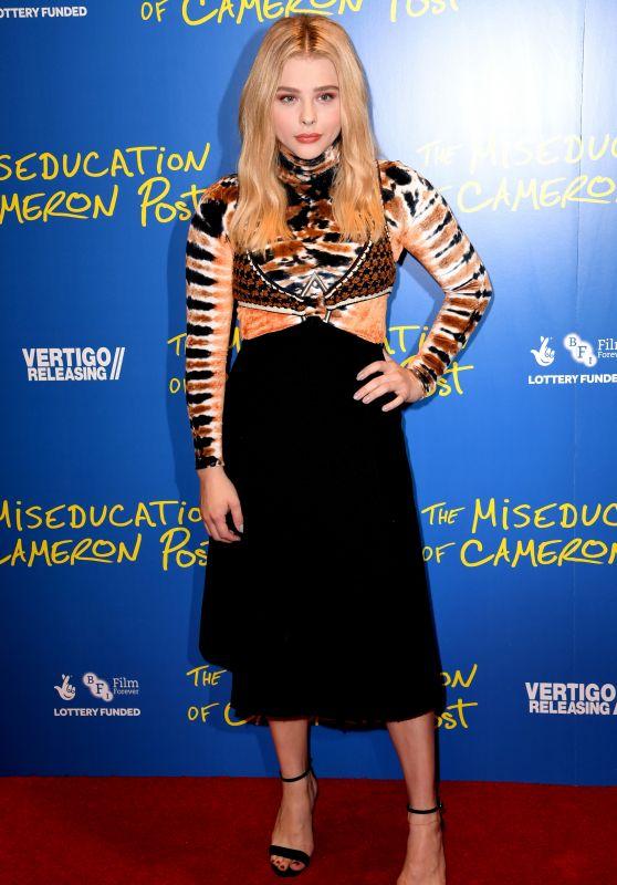 "Chloe Moretz – ""The Miseducation of Cameron Post"" Screening in London"