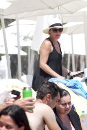 Christina Applegate With Friends and Family in Malibu 08/13/2018