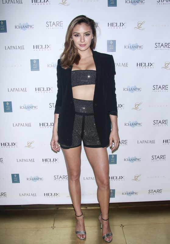 Christine Evangelista - LAPALME Magazine Cover Party in NY 08/02/2018