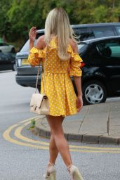 Christine McGuinness - Out in Cheshire 08/08/2018