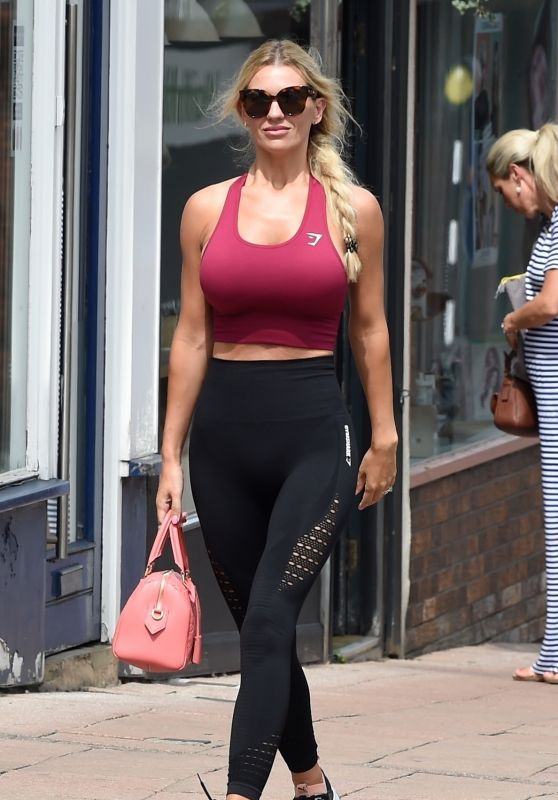 Christine McGuinness - Out in Wilmslow Cheshire 08/06/2018