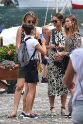 Cindy Mello and Fernanda Liz in Portofino 08/13/2018