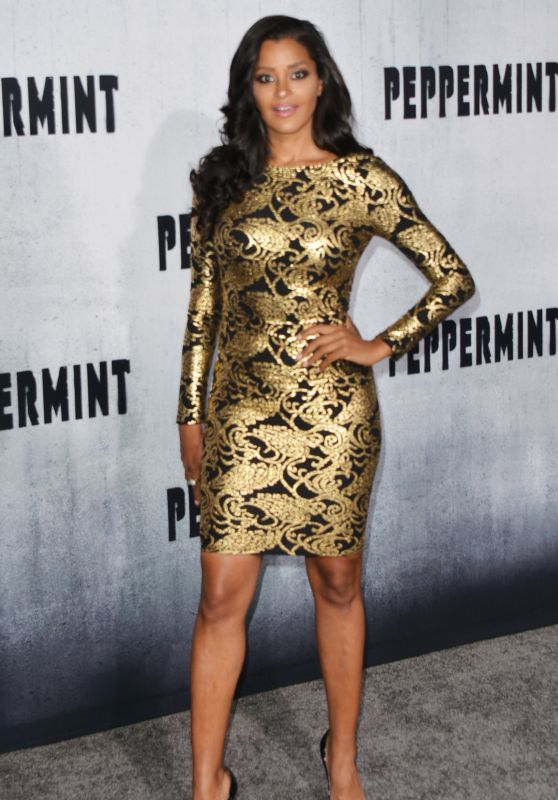 "Claudia Jordan – ""Peppermint"" Premiere in LA"