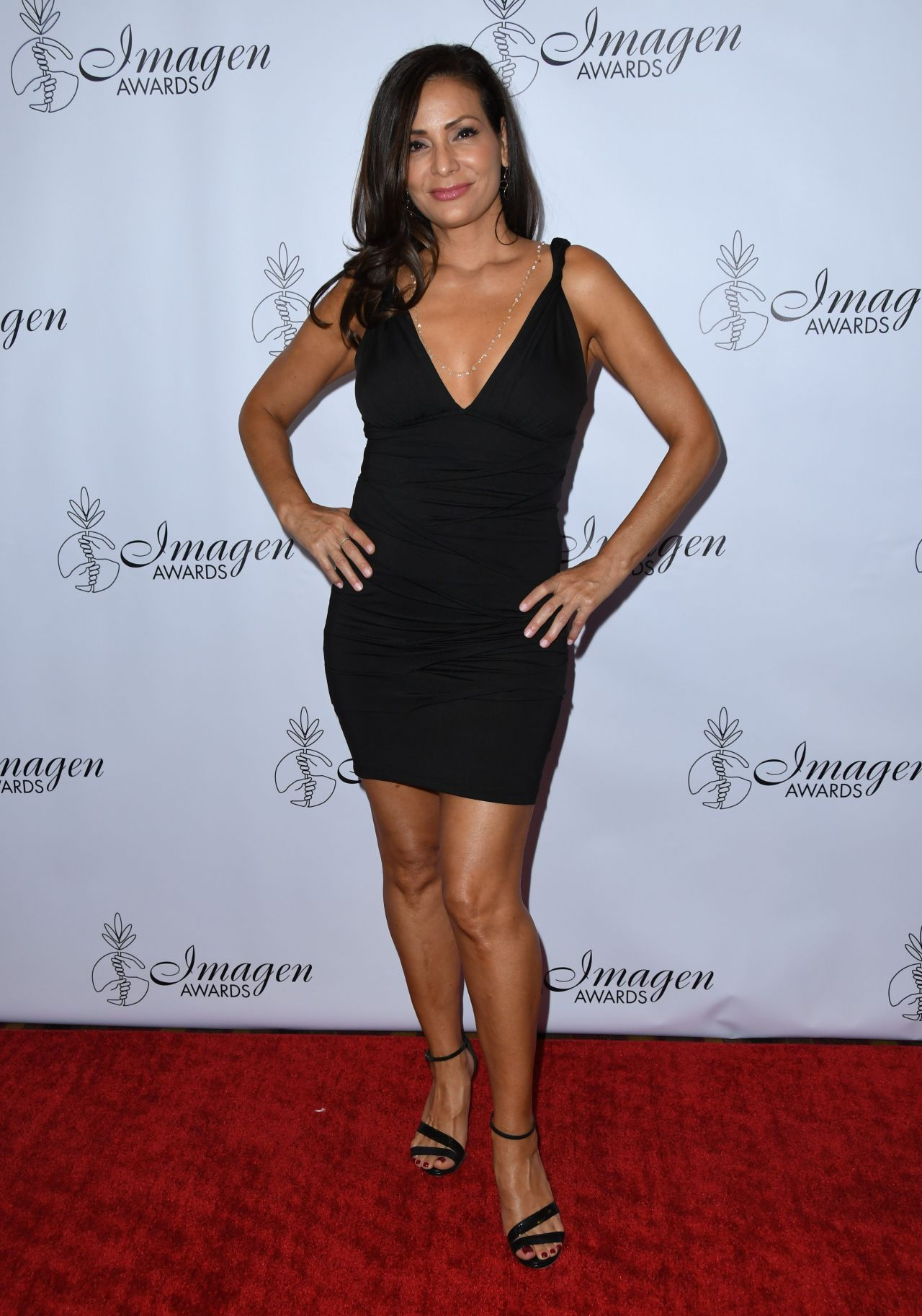 Constance Marie belly