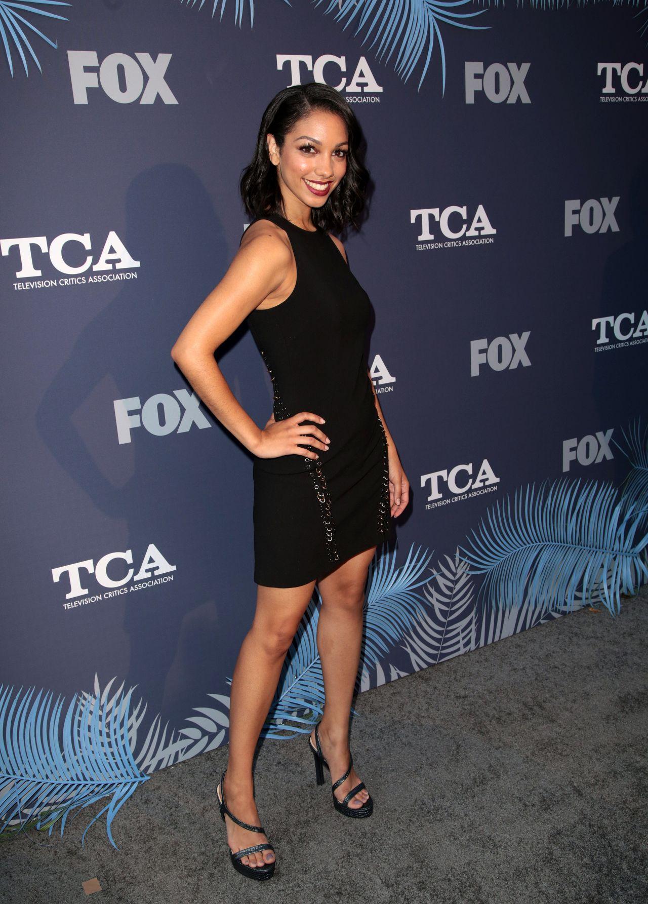Corinne Foxx Fox Summer Tca 2018 All Star Party In West