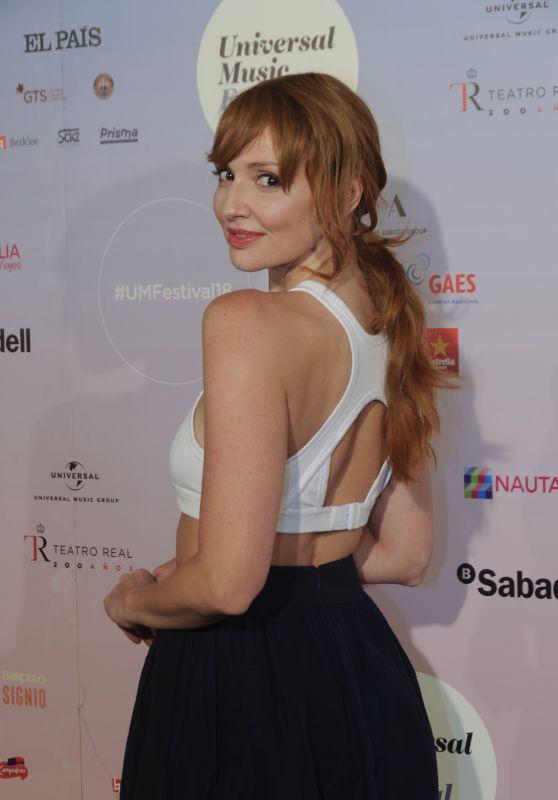 Cristina Casta – Universal Music Festival 2018 Concert in Madrid 07/31/2018