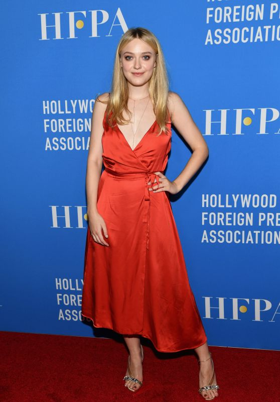 Dakota Fanning - Hollywood Foreign Press Association Annual Grants Banquet in LA 08/09/2018