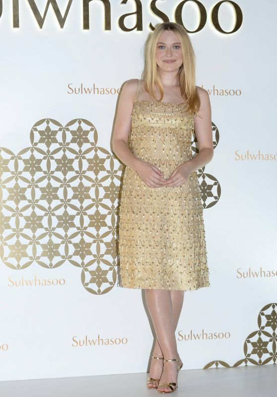 Dakota Fanning - Sulwhasoo Exhibition Opening Ceremony in Hong Kong 08/29/2018