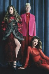 "Dakota Johnson, Chloe Moretz, Tilda Swinton, Jessica Harper, Malgosia Bela and Mia Goth - Cast of ""Suspiria"", Vanity Fair Italia 2018 August"