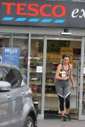 Danielle Lloyd - Heading To Gym in Birmingham 08/14/2018