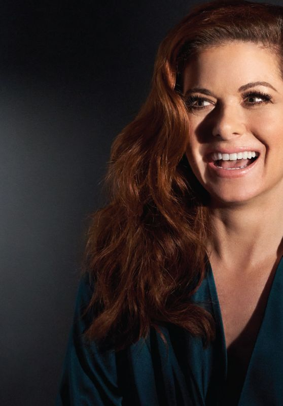 Debra Messing - Backstage Magazine August 2018