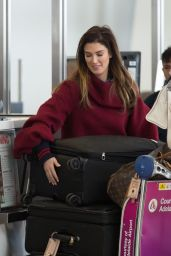 Delta Goodrem - Departing Adelaide 08/19/2018