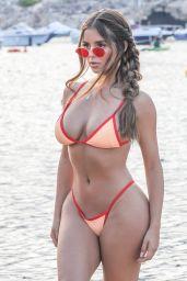 Demi Rose in a Tiny Bikini in Ibiza 08/13/2018