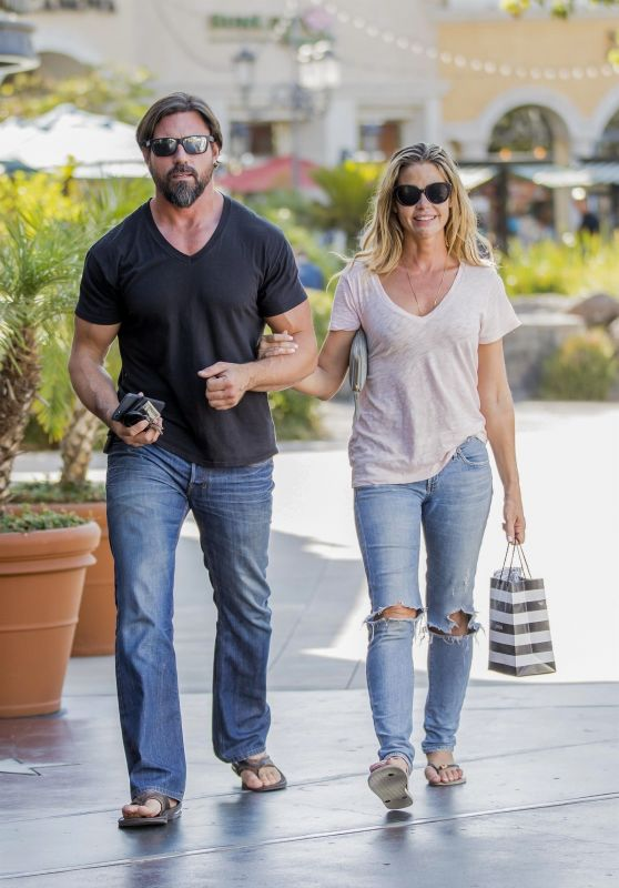 Denise Richards and Aaron Phypers Out in Calabasas 08/14/2018