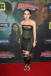 """Devanny Pinn – """"The Last Sharknado: It's About Time"""" Premiere in LA"""