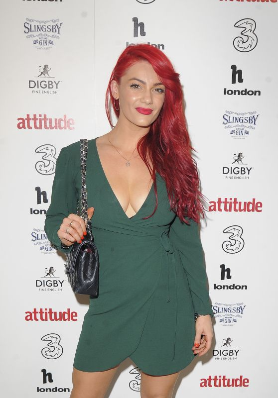 Dianne Buswell - Attitude 300 Celebrating With Three in London